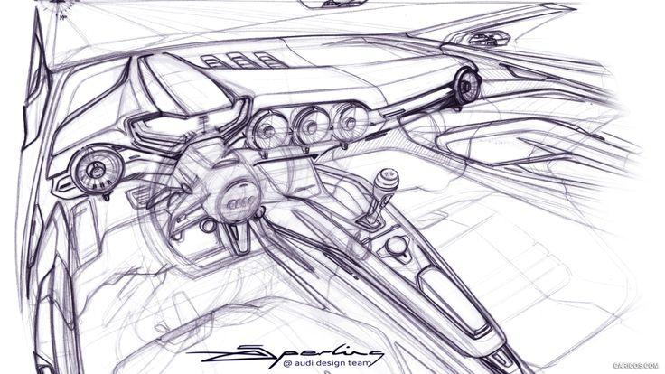 Audi TT Sketch