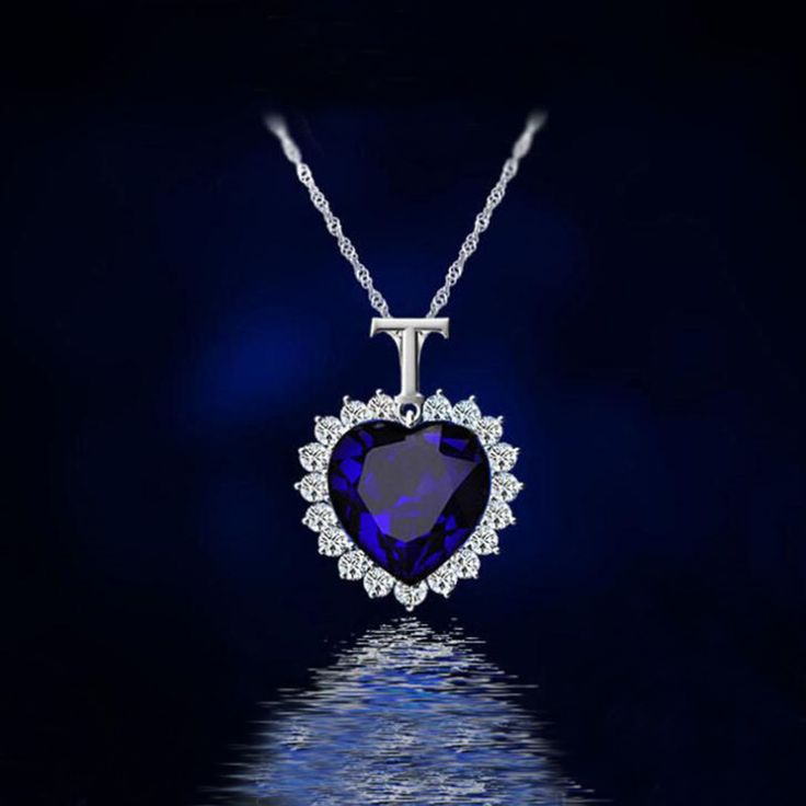 titanic heart of the ocean necklace Crystal silver -plated pendant Necklaces & Pendants necklaces
