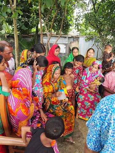 BELL solar lamp - Bangladesh 2012