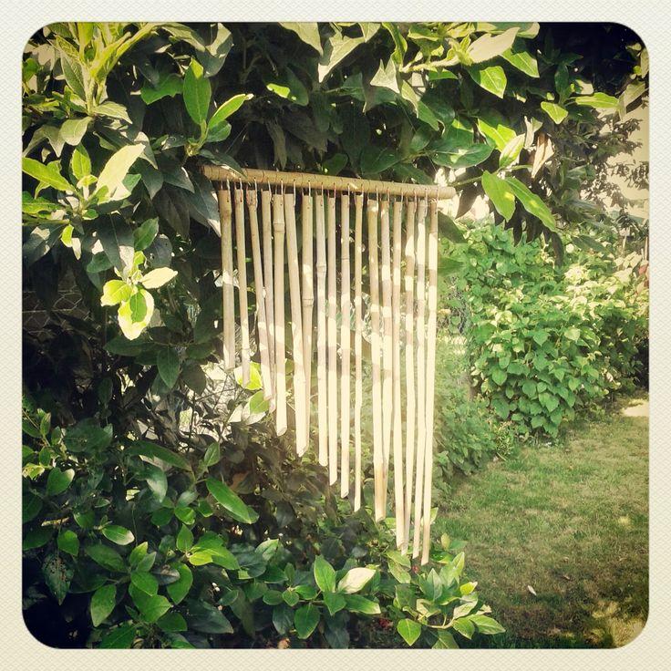 Carillon en bambou