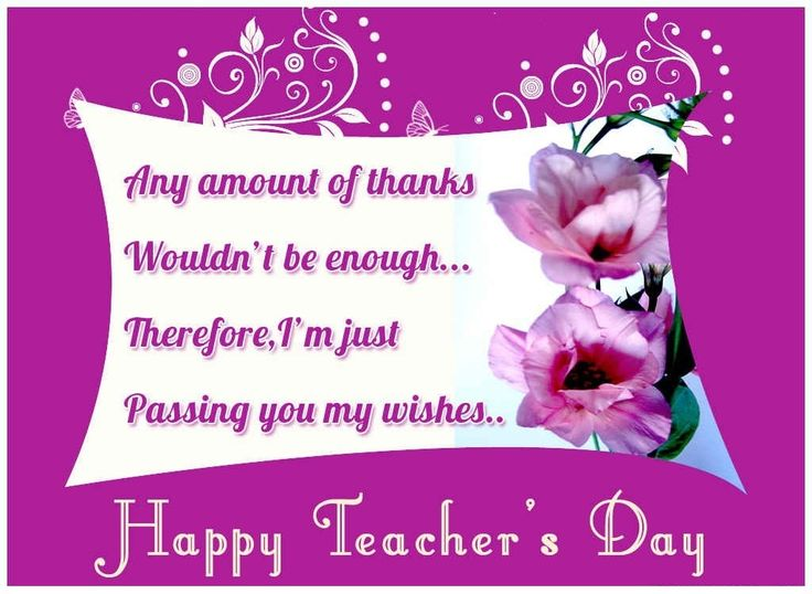 Lovely Teachers Day Flowers Gifts Best Wishes Cards
