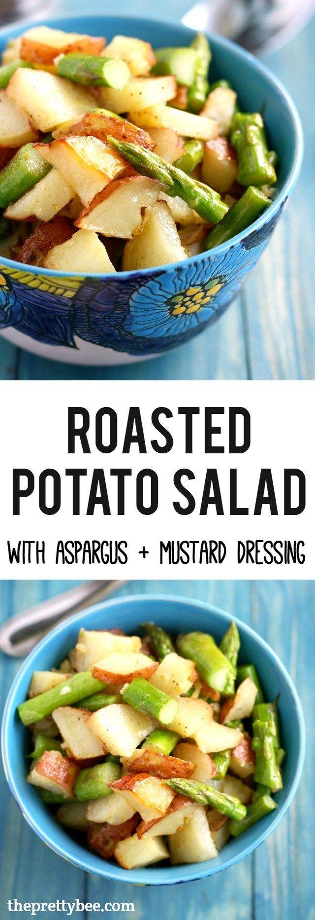 25+ bästa Roasted potato salads idéerna på Pinterest