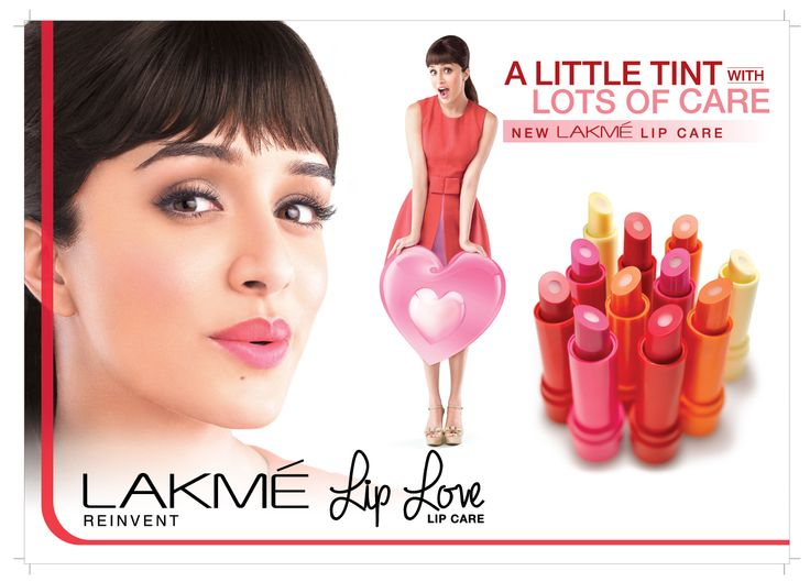 Lakmé LIP LOVE lip care: a 2 in 1 lip balm + lip care.