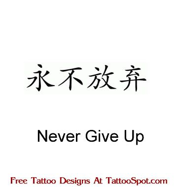 Home / Name Tattoo Designs / chinese-nevergiveup