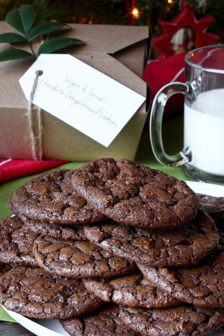 Recipe: Chewy Chocolate Gingerbread Cookies