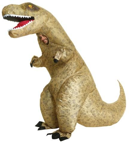 Purchase Online Dinosaur Tyrannosaurus T-Rex Inflatable #AdultCostume Theme #HalloweenParty