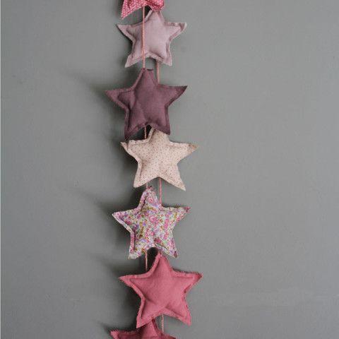 Guirnalda Stars Rosa