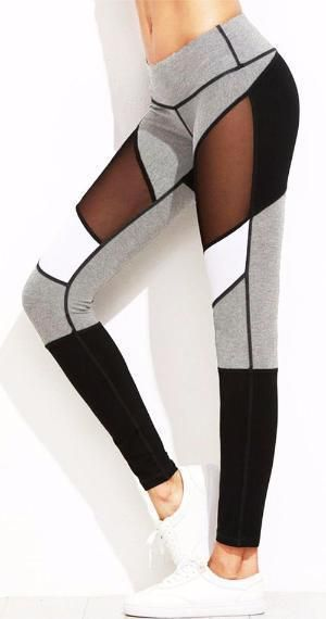 Gray Scale Leggings *NEW