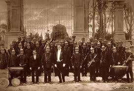 Banda de los Supremos Poderes, 1924