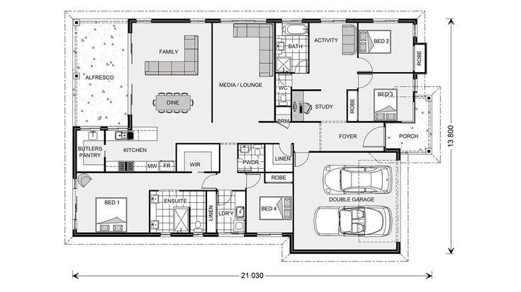 Seacrest 236 - Element, Our Designs, Sunshine Coast South Builder, GJ Gardner Homes Sunshine Coast South