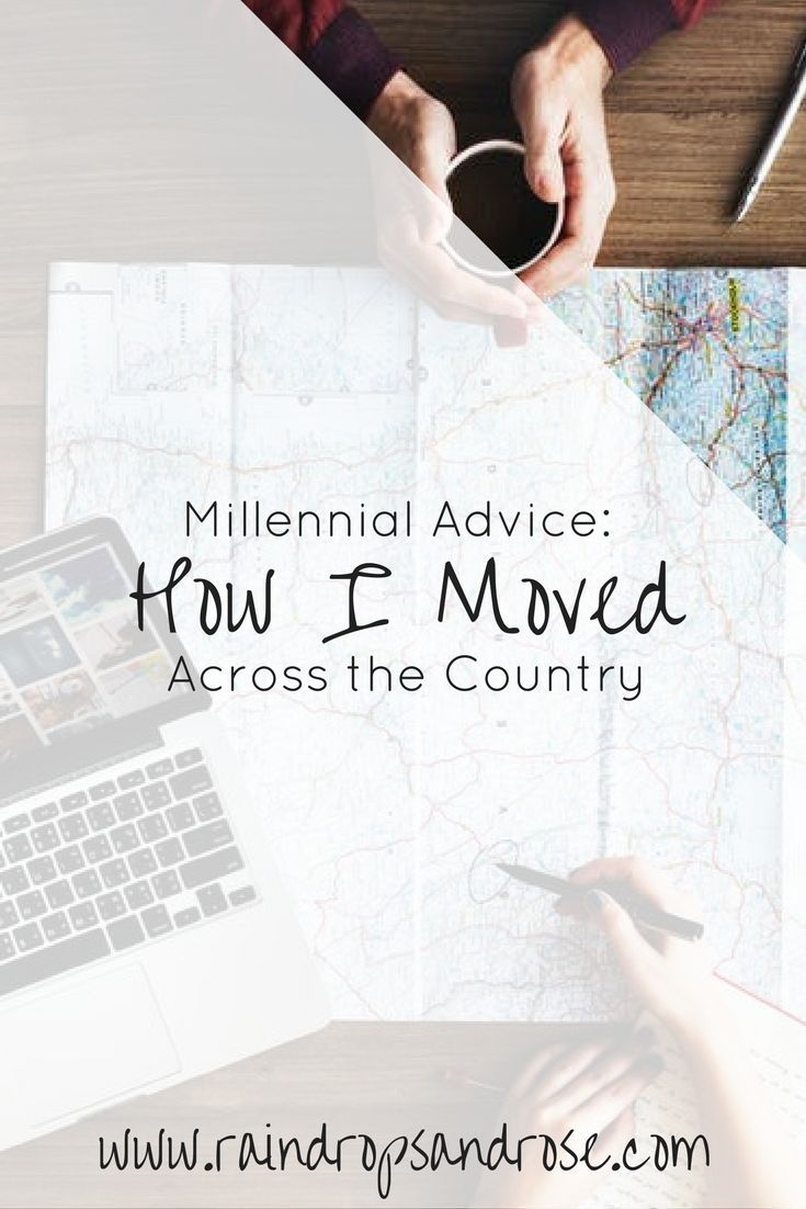 Are you a millennial looking for advice on how to move across the country? Here is my experience on how I moved from New Jersey to California.