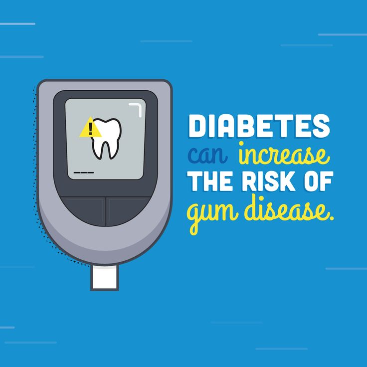 In honor of National Diabetes Month, come see us to ensure that you're not at risk of developing gum disease!