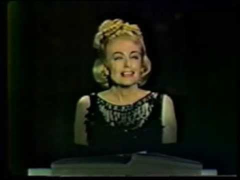 """A House of Gingerbread and Bells!"" Or, the Night Joan Crawford Hypnotized America with a Fully-Orchestrated, Utterly Unintelligible, Six-Minute Dramatic Reading About ""Little Children."" Or—Really, About Being Joan Crawford!"