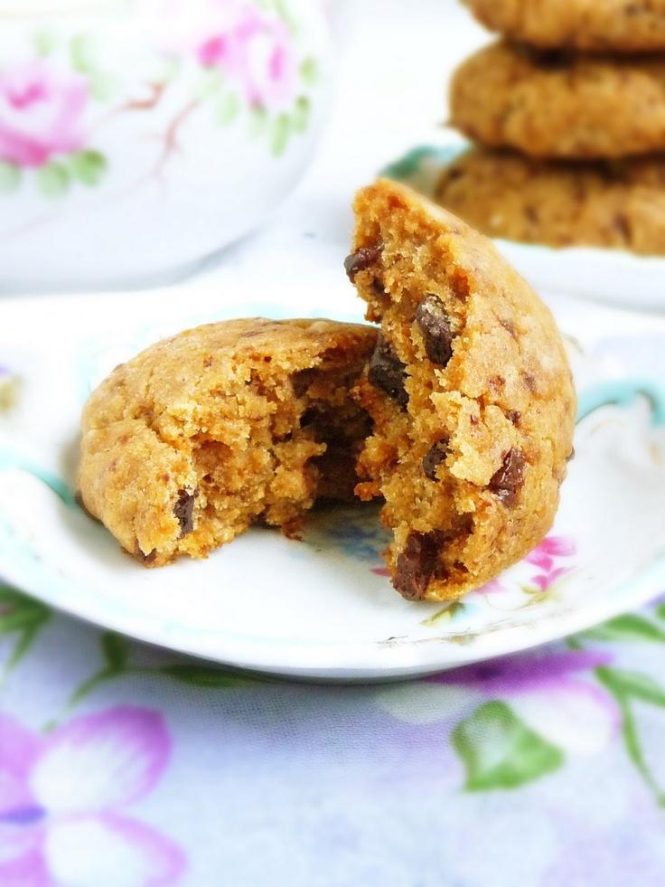Banana Chocolate Chunk Cookies (Gluten-Free, Refined Sugar-Free, Vegan)