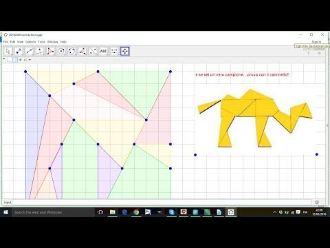 Geometria con geogerbra video tutorial in italiano per scuola primaria