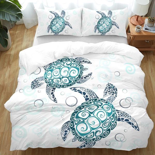 The Sea Turtle Twist Bedding Set Bedding Master Bedroom Turtle