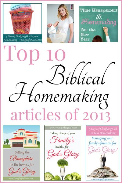 Get a jump start on your homemaking this year by making some goals and investing in your #homemaking!