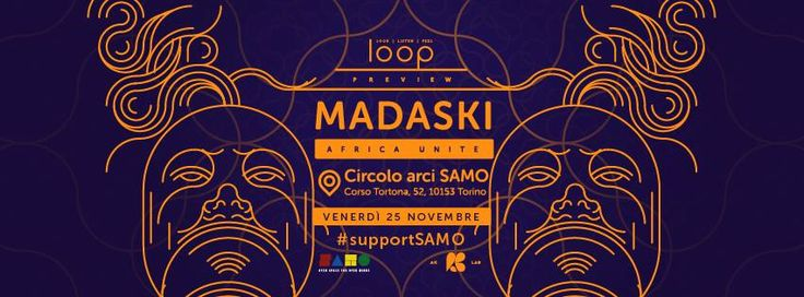 LOOP preview w/ Madaski live – SAMO Torino |