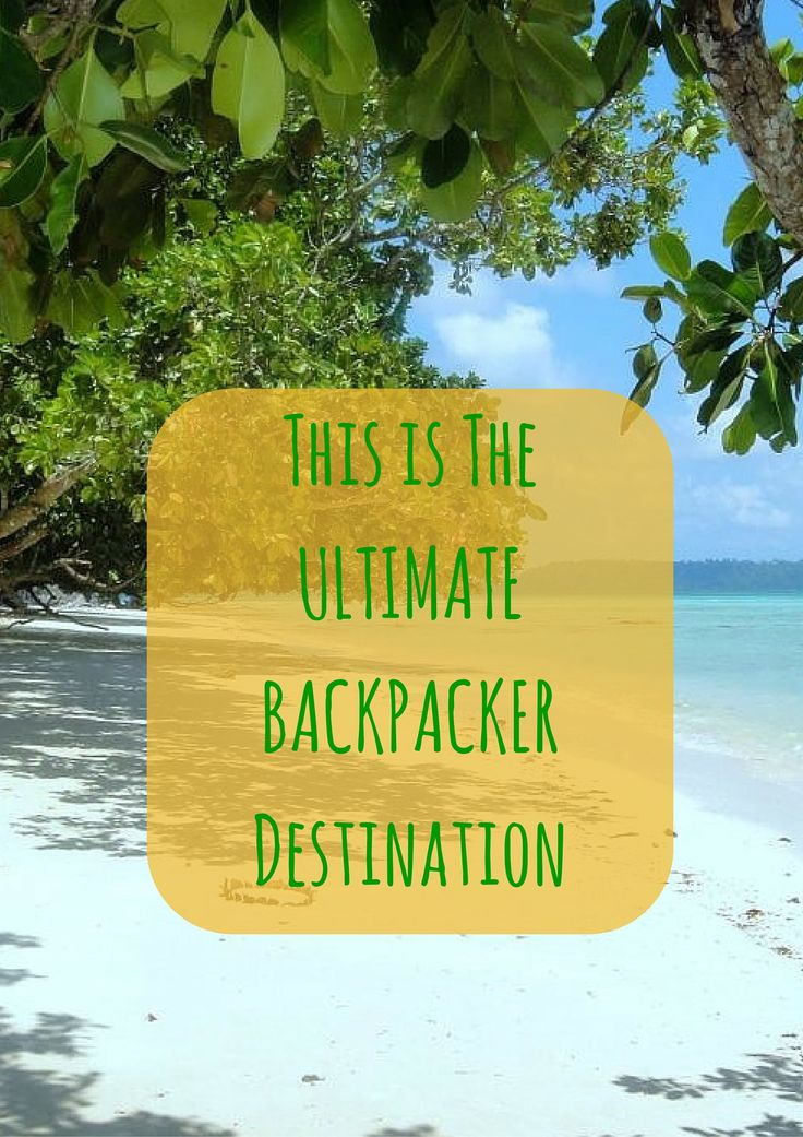Havelock Island - the Ultimate Backpacker Destination in Andaman and Nicobar Islands of India. The Andaman Islands are famous for pristine white sand beaches.