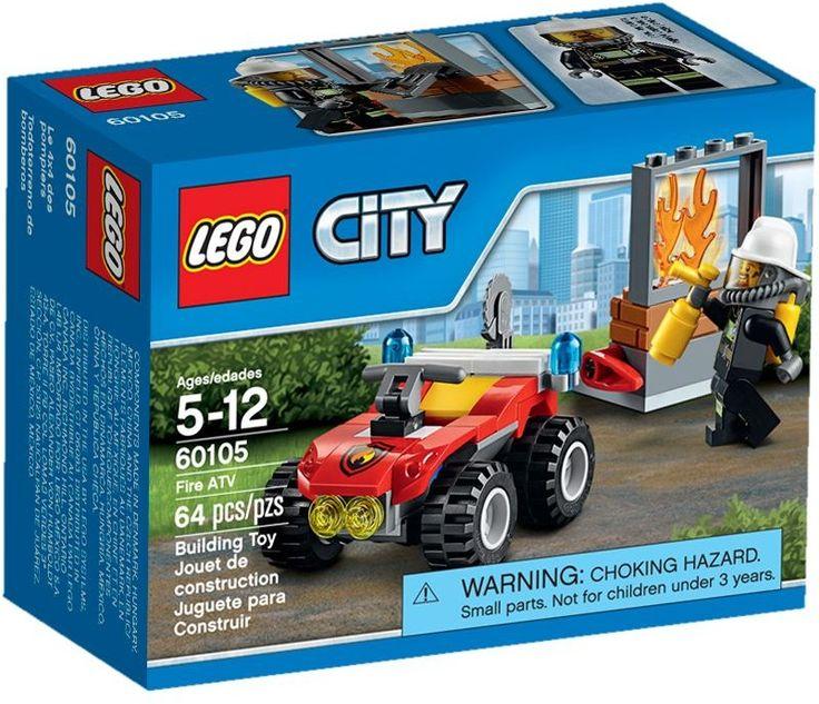 Comparez les prix du LEGO City 60105 Le 4x4 des pompiers avant de l'acheter ! Infos, description, images, vidéos et notices du LEGO 60105 Le 4x4 des pompiers sur Avenue de la brique
