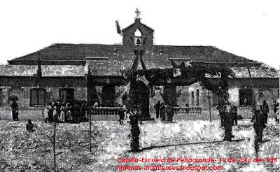 Origen de la Parroquia de San Rafael Arcángel, en el barrio de Peñagrande.