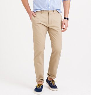 Men's Chino Pants : Men's Pants By Fit | J.Crew