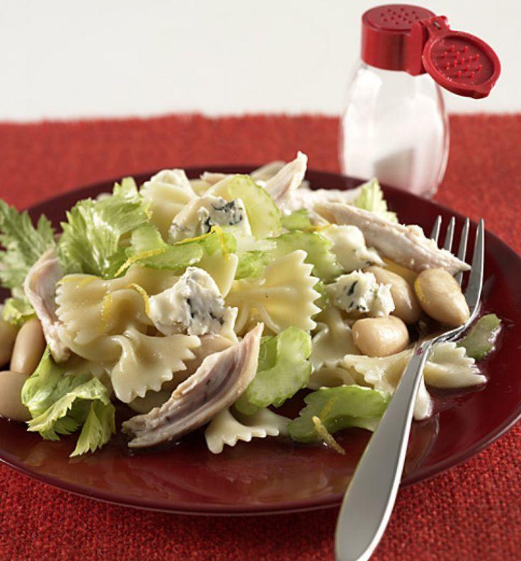 die besten 25 bowtie pasta salate ideen auf pinterest kalte pasta beilagen cremiger. Black Bedroom Furniture Sets. Home Design Ideas