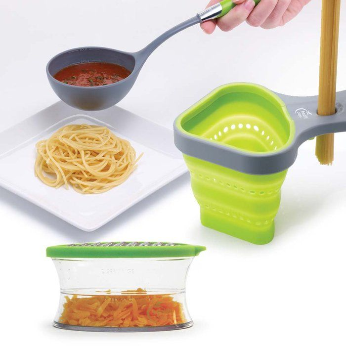 Portion control Pasta Basket & Serving Ladle.