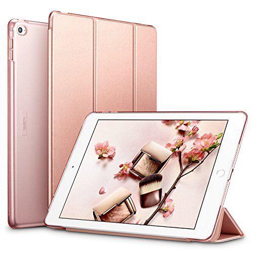Coque iPad Air 2 Rose, Coque ESR iPad Air 2 Smart Cover Case Housse Étui de Protection Rigide Utlra Fin avec Support Intégré Multi-Angle Fermeture Magnétique avec Mise en Veille Automatique pour Apple 9,7 pouces iPad Air 2 Modèle A1566 / A1567 sorti en 2014 (Série Colorée, Or Rose) #Coque #iPad #Rose, #Smart #Cover #Case #Housse #Étui #Protection #Rigide #Utlra #avec #Support #Intégré #Multi #Angle #Fermeture #Magnétique #Mise #Veille #Automatique #pour #Apple #pouces #Modèle #sorti #(Série…