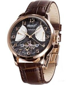 INGERSOLL Massa Automatic Brown Leather Strap IN6910RBK