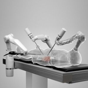 Miro Surge robot surgeons for beating human hearts