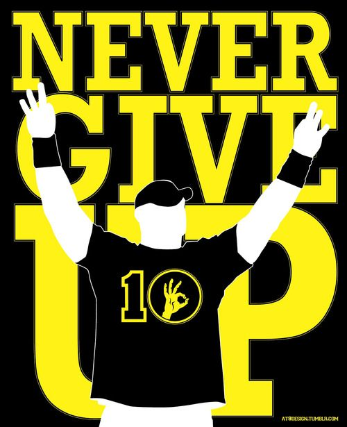 COOL IMAGES: john cena logo never give up  |John Cena Logo Never Give Up 2014