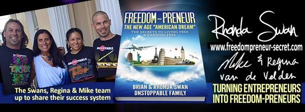 We released a video series on the FreedomPreneur secret... Check it out: http://freedompreneur-secret.com