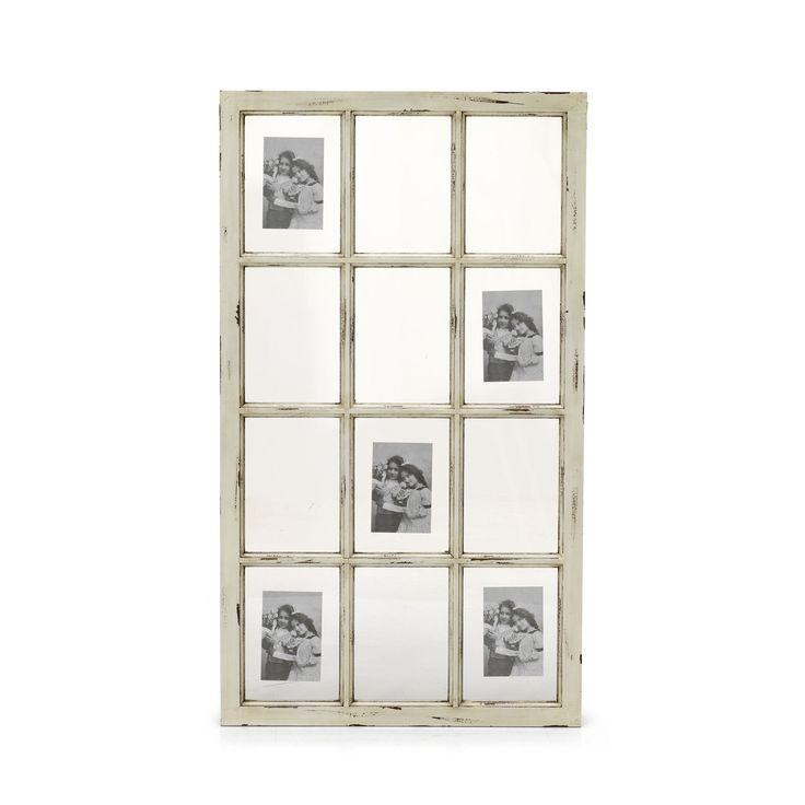 Cadre photo multivues crème 105x60cm Crème - Germaine - Cadres et albums - Affiches et déco murale - Salon et salle à manger - Décoration d'intérieur - Alinéa