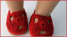 Free Crochet Patterns For American Girl Doll Shoes