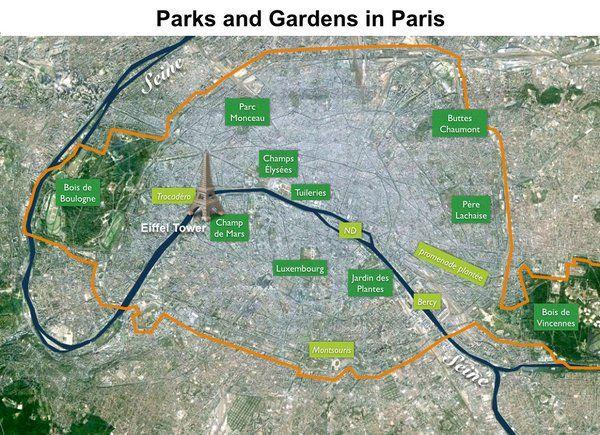 Top 20 Most Beautiful Parks And Gardens Of Paris Beautiful Park