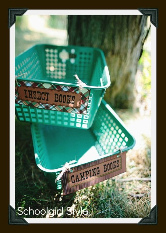 Classroom Theme Basket Ideas ~ Best camping theme images on pinterest classroom