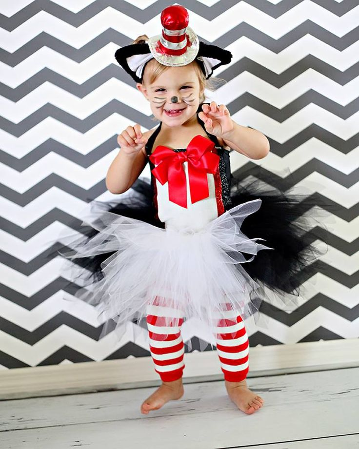 cat in the hat halloween birthday dress up costume - Cat In The Hat Halloween Costume Ideas