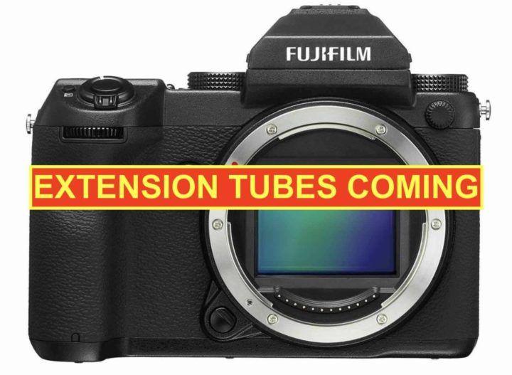 Fujifilm GFX: 18mm and 45mm Macro Extension Tubes Coming GF