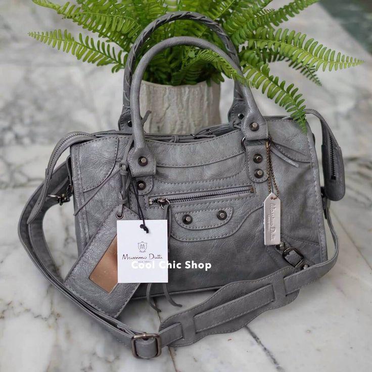 กระเป๋าแฟชั่น กระเป๋าแฟชั่น Massimo Dutti ทรง Balenciaga ของแท้ สินค้า Outlet มี 2 สี ดำ เทา กระเป๋าแฟชั่น Massimo Dutti ทรง Balenciaga หนังสวยมากค่ะ ...