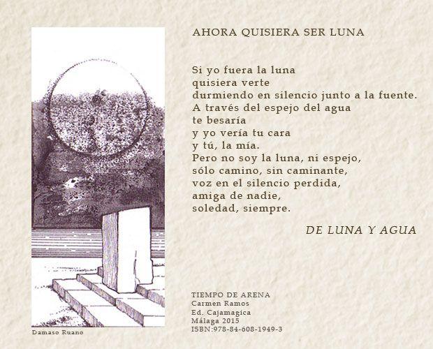 Tiempo de arena: De luna y agua. Carmen Ramos