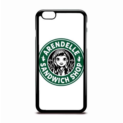 Arendelle Sandwich Shop White Disney Coffee Logo Style Case Design For IPhone