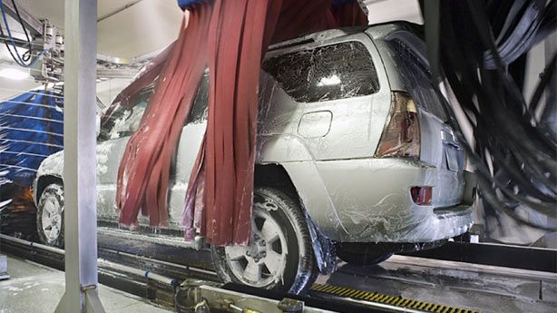 Can Automatic Car Washes Damage Your Car?  http://autos.aol.com/article/automatic-car-wash-tips/