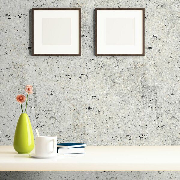 Dawnview Concrete Removable Peel And Stick Wallpaper Panel Peel And Stick Wallpaper Wallpaper Panels Brick Wallpaper Roll