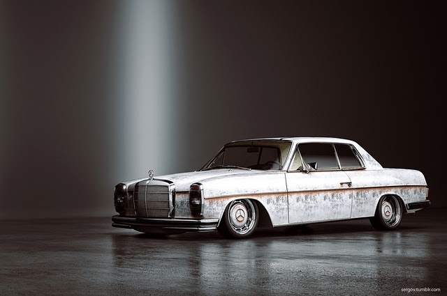 Mercedes w114 fotoshop mod