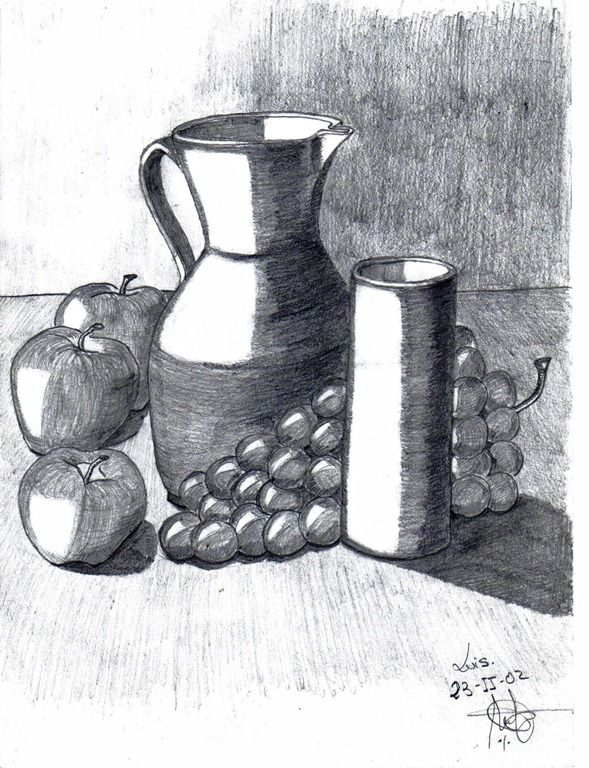 10 Ideas Para Comenzar A Dibujar Bodegones Dibujos A Lapiz Dibujos Sombreados A Lapiz Bodegon Lapiz Sombreado Lápiz