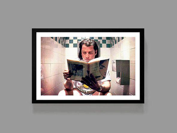 pulp fiction movie poster vincent vega