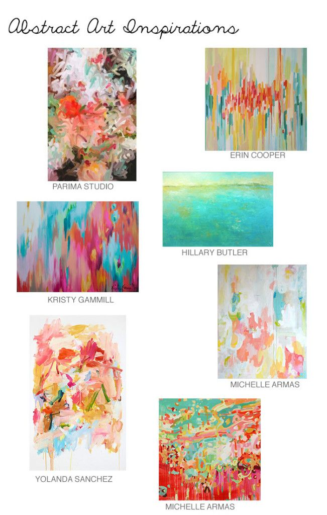 Abstract art inspirations