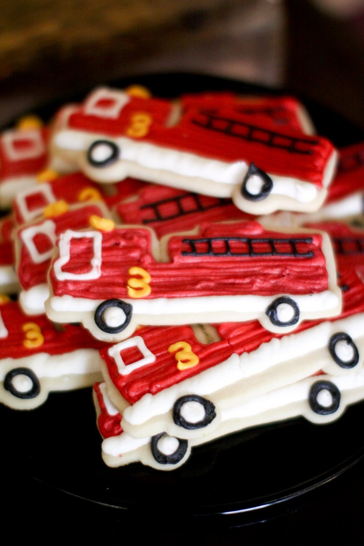 150 best FIRETRUCK PARTY images on Pinterest | Fireman party ...