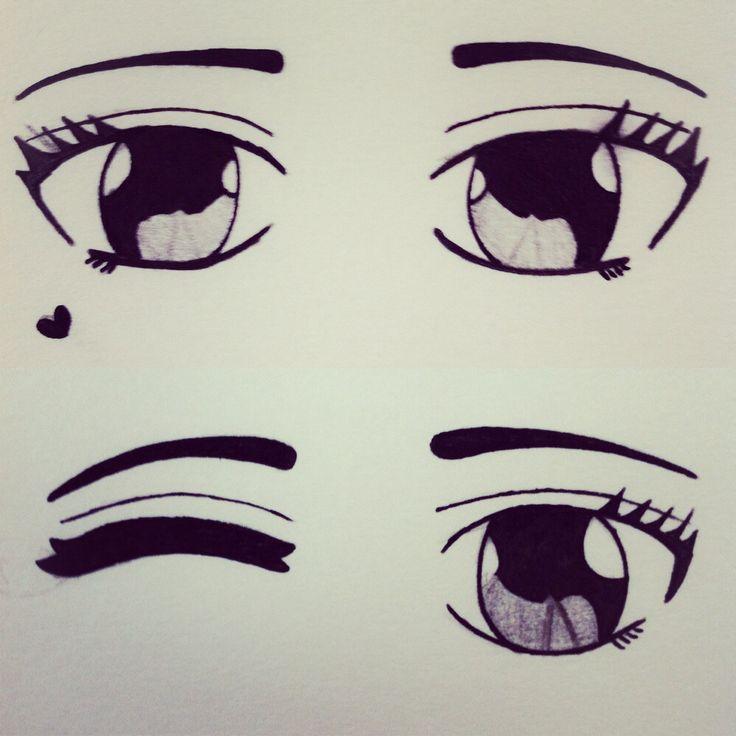 Drawing Easy Anime Eyes Creative Art